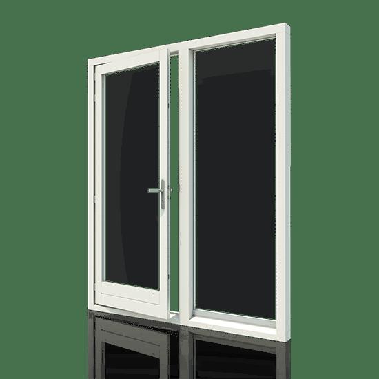 Houten deurkozijnen